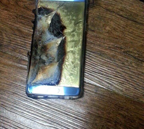 Galaxy Note 7 recall exploding batteries