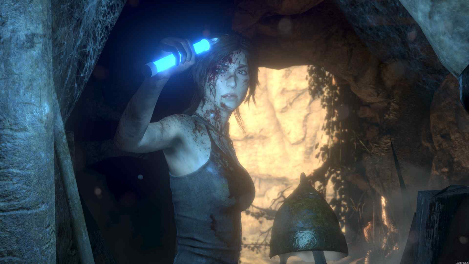 rise of the tomb raider playstation 4 pro gameplay