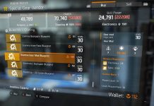 tom clancy's the division vendor reset september 24th