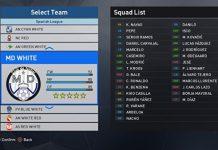 pes 2017 real team names