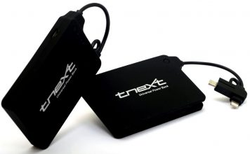 tnext E4000s Power Bank With Micro USB & Lightning Connectors Launched