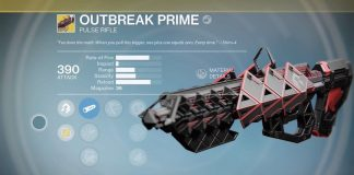 destiny wrath of the machine outbreak prime exotic raid pulse rifle