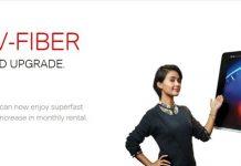 Airtel V-Fiber plans