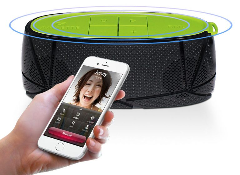 Amkette Trubeats Sonix Portable Bluetooth Speaker Launched At Rs. 2299