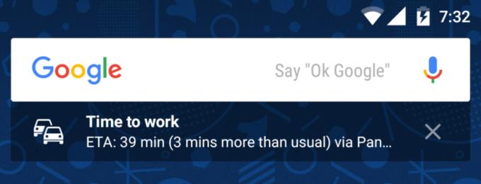 Google Now Launcher Update Adds Sub-Widgets Under Search bar