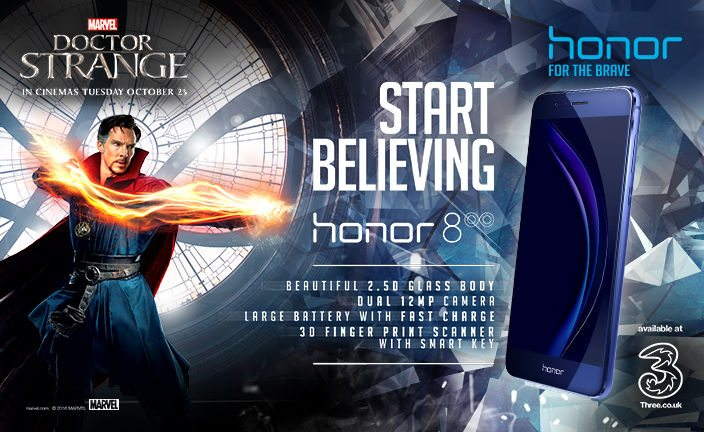 Huawei Honor 8 Doctor Strange Limited Edition Announced