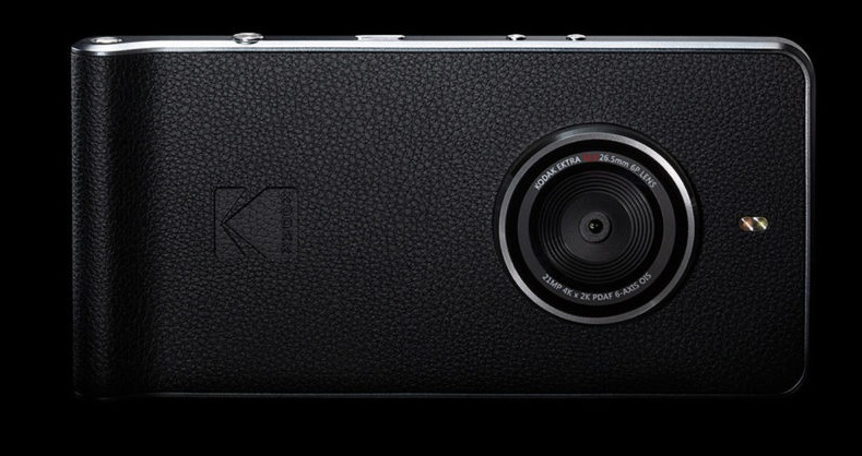Kodak Ektra Smartphone With 21MP Sensor, 5-Inch Display Announced