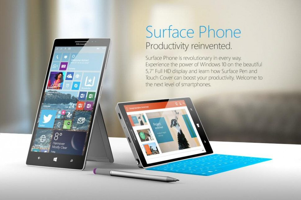 Microsoft Taking Final Shot In The Smartphone Market with Surface Phone