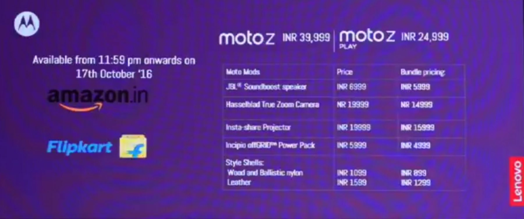 Moto Z, Moto Z Play India Launch - Price, Specs, Features, and Everything Else You Need to Know