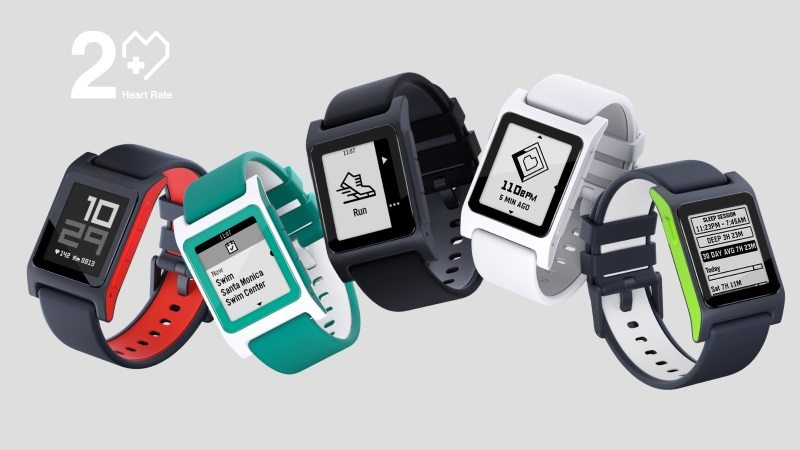 Pebble 2 + Heart Rate Pre-Orders Start, Pebble 2 SE Coming in November