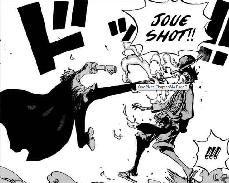 One Piece Chapter 845