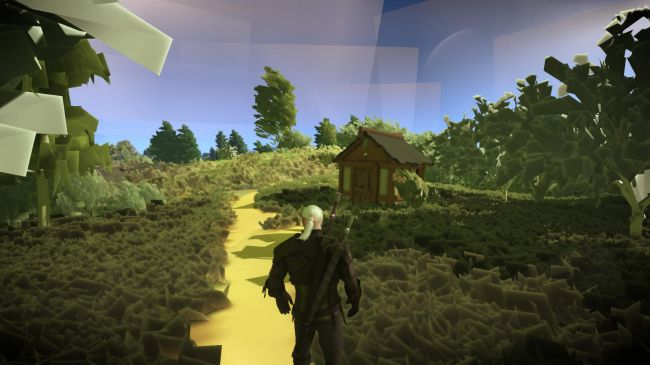 The Witcher 3: New Graphics Mod Gives The Witcher 3 An Indie Flavor