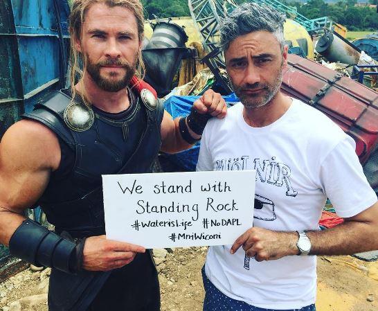 Thor: Ragnarok costume revealed on the sets