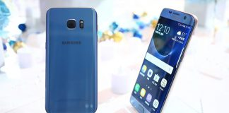 galaxy s7 edge blue coral color