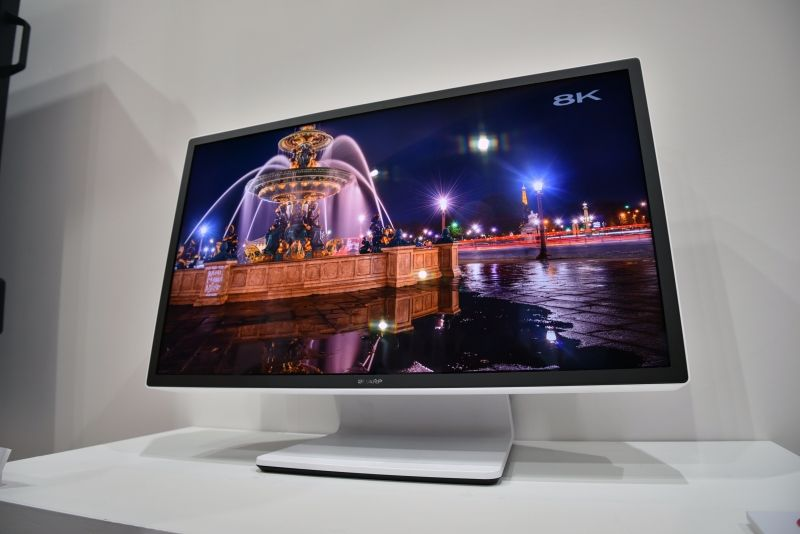 sharp igzo 27 inch 8k 120hz hdr display