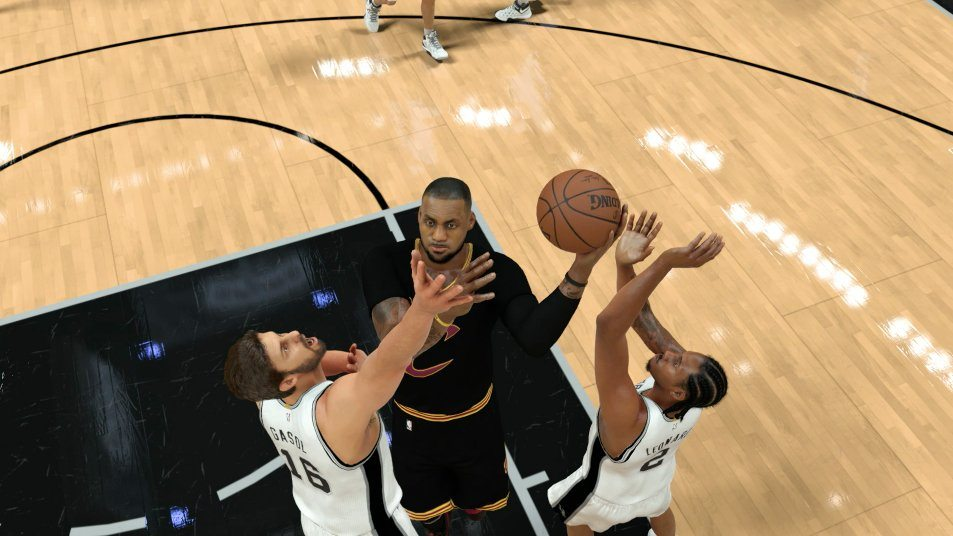 NBA 2K17 Guide: How To Get Relentless Finisher Badge - u4nba com