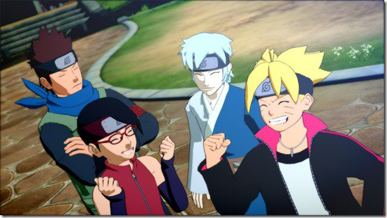 Naruto Shippuden Ultimate Ninja Storm 4 Road to Baruto Team Konohamaru