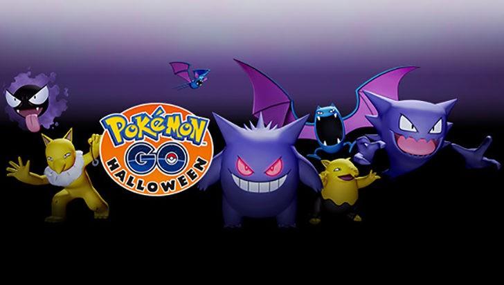 pokemon go halloween update