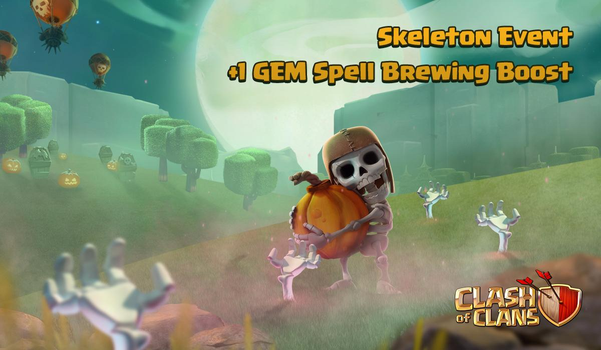 clash of clans halloween update 8.551.18 apk download