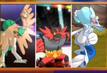 pokemon sun and moon starter pokemon final evolutions