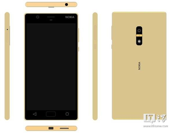 A Metal Smartphone With Nokia Branding Surfaces Online