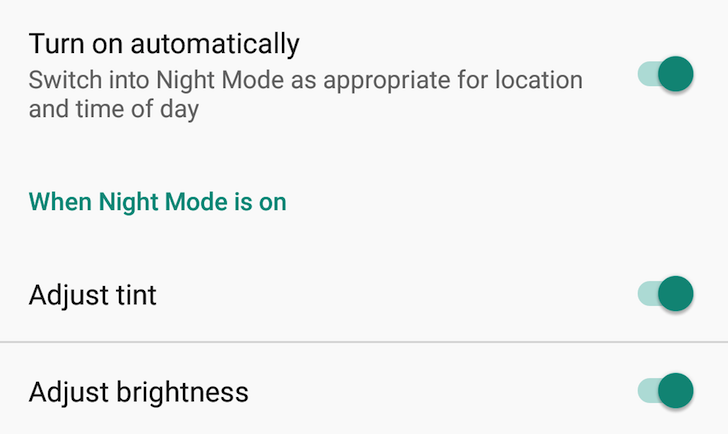 How To Bring Back Night Mode On Nexus 6P After Android 7.1 Nougat Update