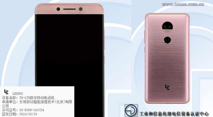 LeEco Le X850 With 13MP Dual Rear Cameras Set To Disrupt Smartphone Market