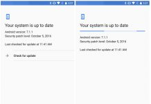 New Google Play Services Update 'Check For Updates' Button Restored