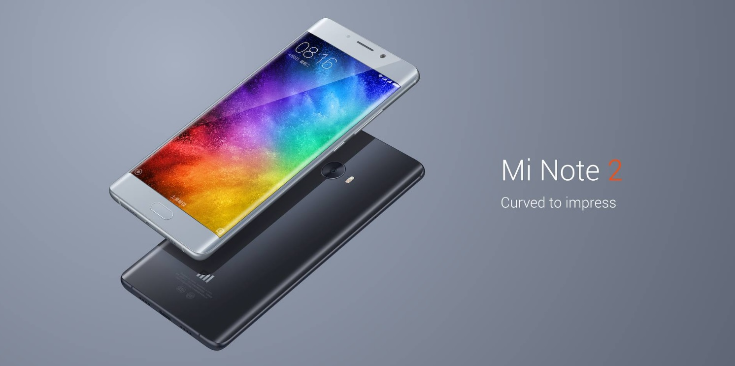 Xiaomi Mi Note 2 Sold out in 50 seconds In China