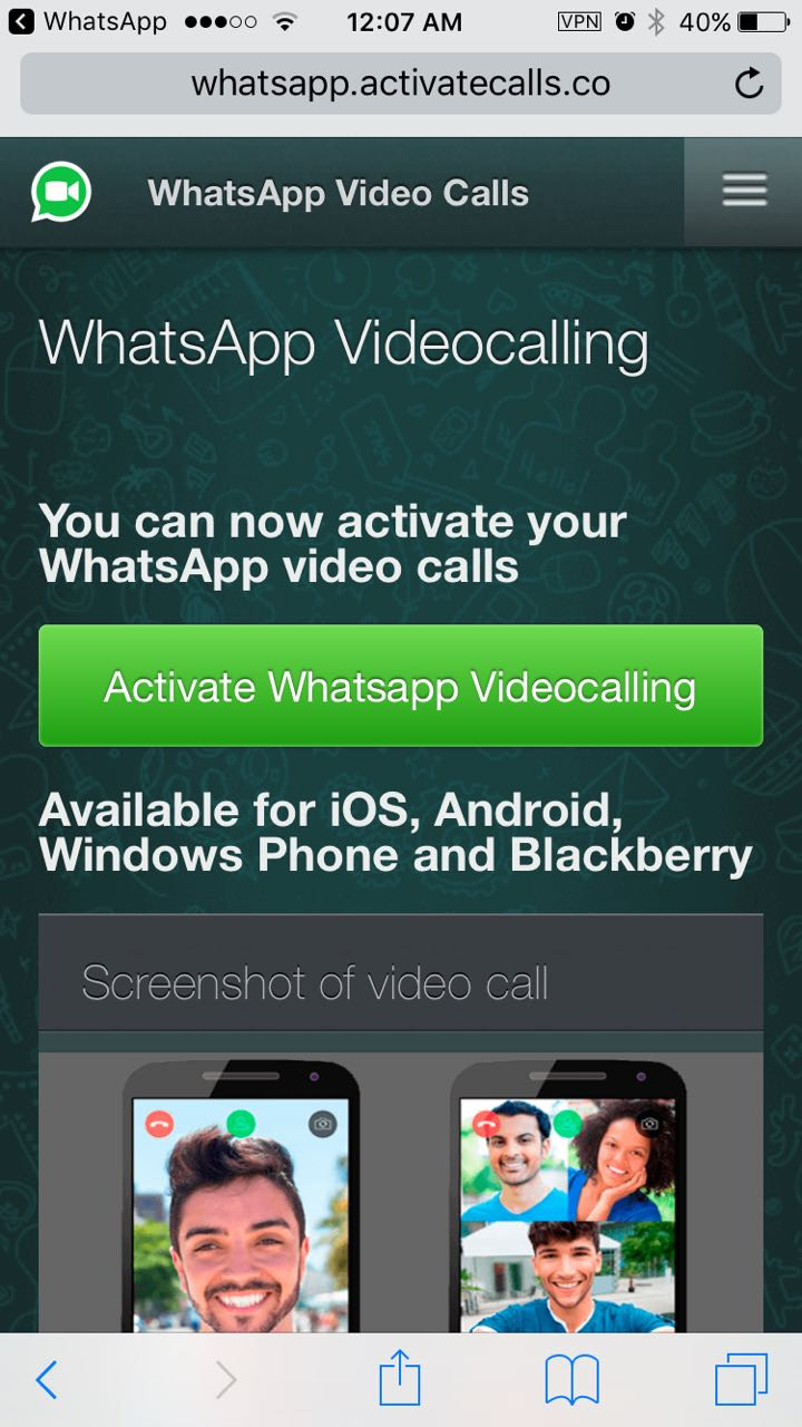 Beware! WhatsApp Group Video-Calling Activation Is New Scam on The
