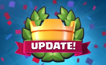 clash royale november 2016 update 1.6.0