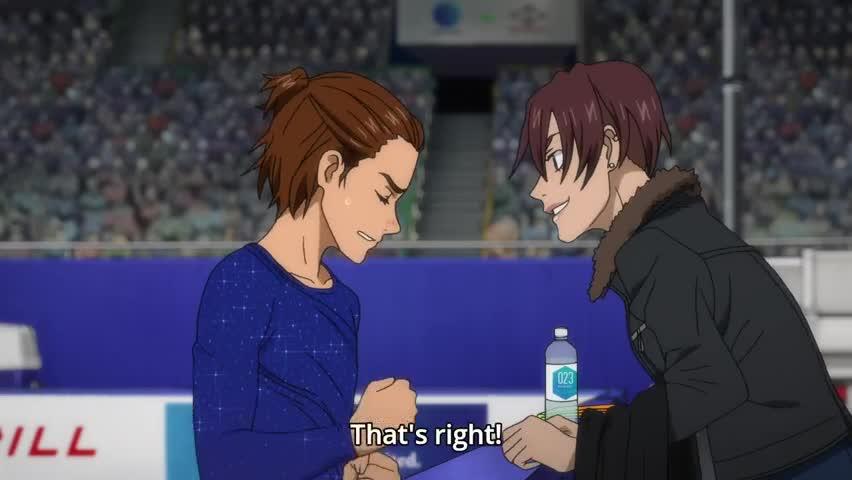 Yuri On Ice Episode 8