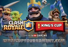 clash royale king's cup