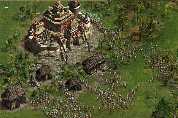 best Games Like Age of Empires american-conquest