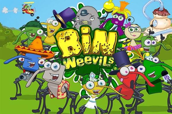 Games like Animal Jam bin-weevils