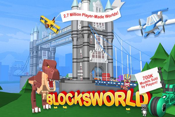 Games Like Roblox blocksworld