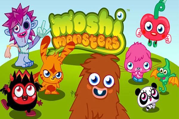 Games like Animal Jam moshi-monsters