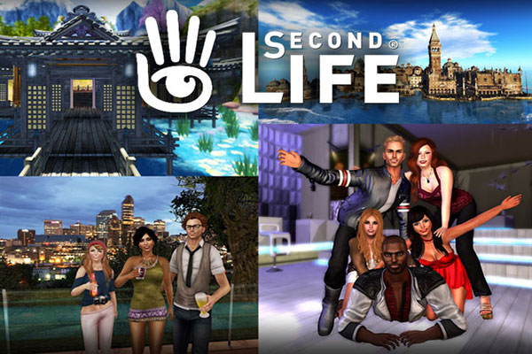Games like The Sims second-life