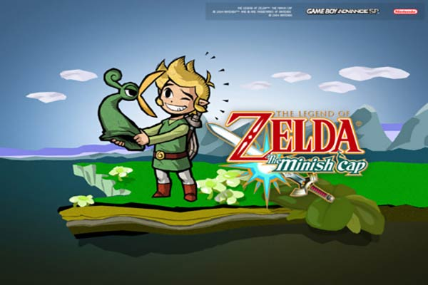 best gameboy advance games the-legend-of-zelda-the-minish-cap
