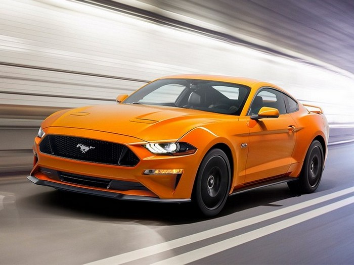 2018 Ford Mustang Features