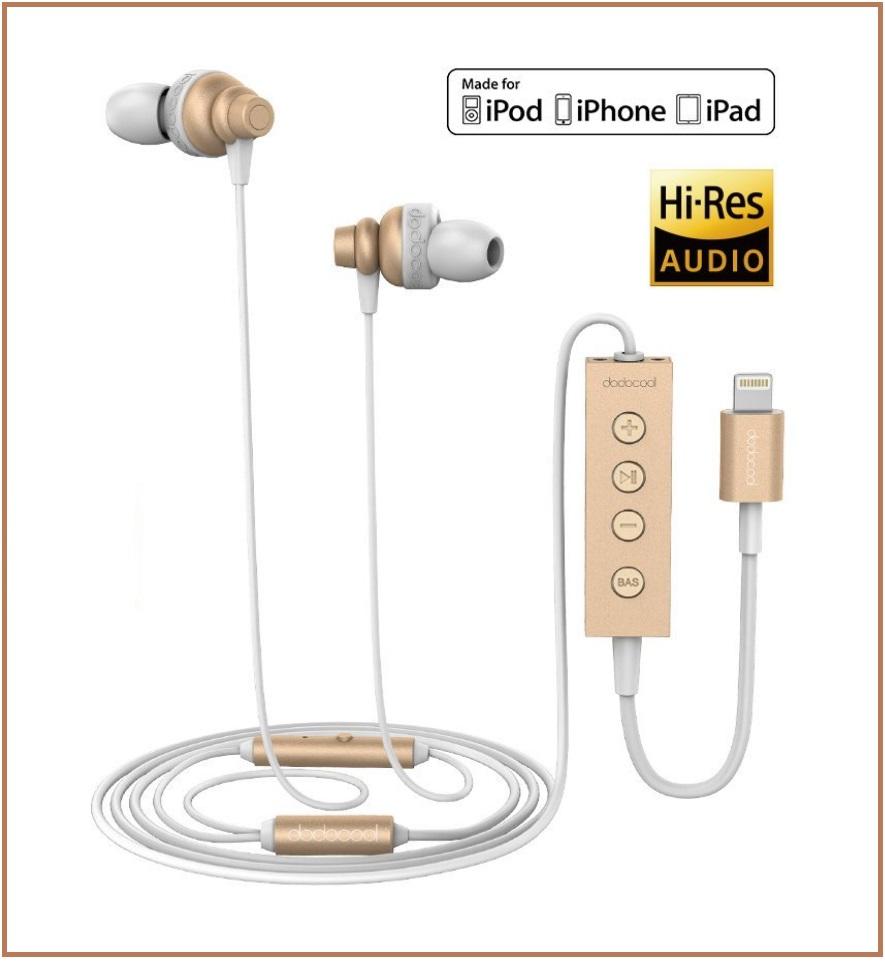 Dodocool Apple MiFi Certified Earphones