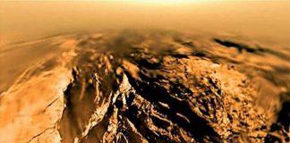 Huygen probe Titan landing footage