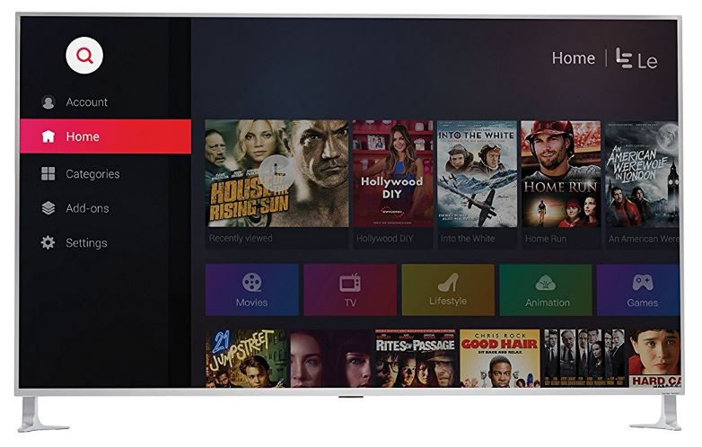 LeEco 65-inch 4K Ultra HD TV
