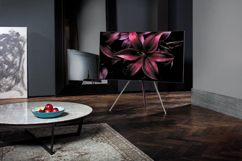 QLED TV Studio Stand Image Source: Samsung