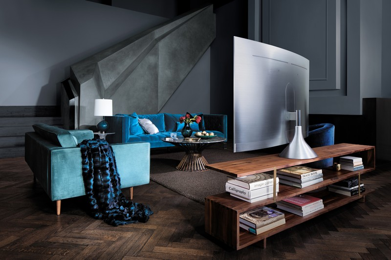 QLED TV Gravity Stand Image Source: Samsung