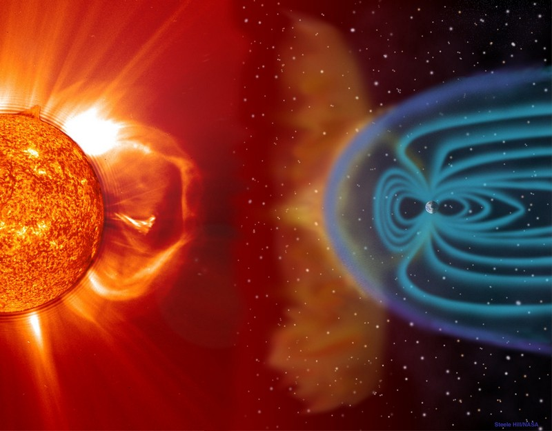 Threat from a solar storm