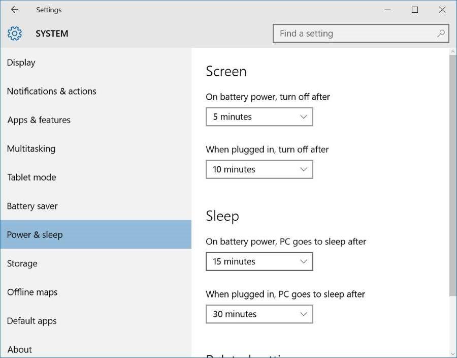 Windows 10 keeps going to sleep mode