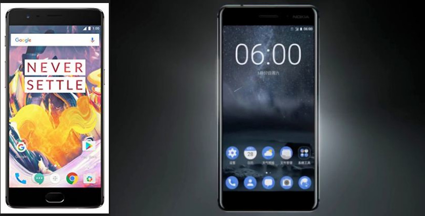 nokia 6 vs oneplus 3t camera specs and performance