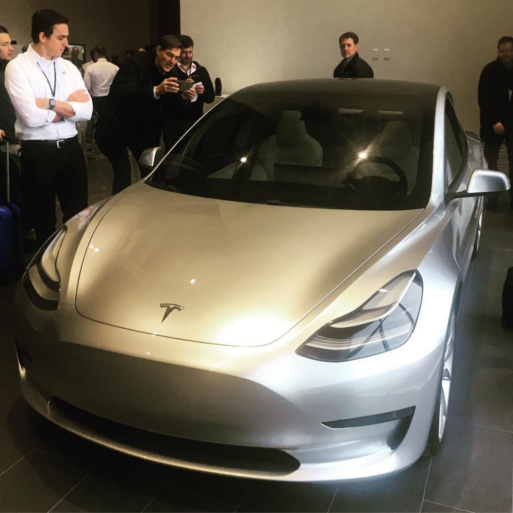 tesla model 3 new image
