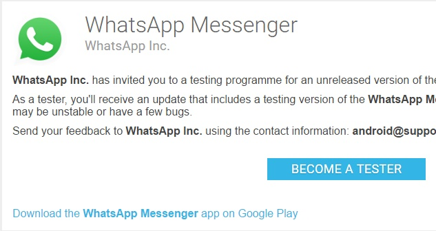WhatsApp Messenger 2.17.39